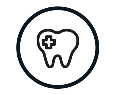 Hilltop Icons footer cosmetic dentistry